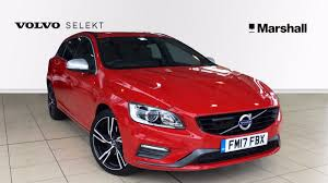volvo selekt used volvo v60 cars for sale in leicester leicestershire motors