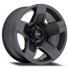 matte black fat five matte black off road wheel method race wheels