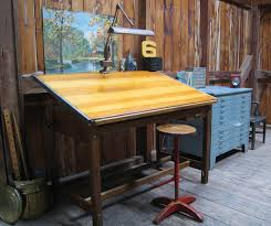 Drafting Table Set Furniture Stacor Drafting Table Vintage Drafting Desk Antique