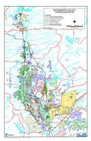 california map detailed northern california water map northern california water association