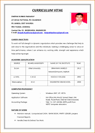 resume for application format resume application form sle gallery of exle format for