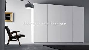 best price custom made fitted high gloss brown sliding door