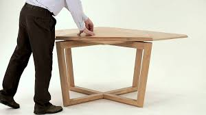 seer table in oak amazing expanding table youtube