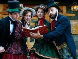 christmas carolers christmas caroling in los angeles from concerts to sing alongs