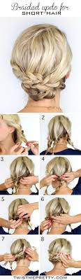 put up hair styles for thin hair best 25 short updo hairstyles ideas on pinterest short hair