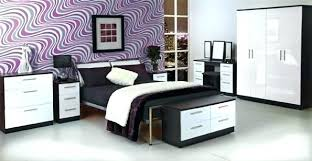 Bedroom Furniture White Gloss Black N White Bedroom Furniture Black And White Bedroom Black And