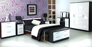 Gloss White Bedroom Furniture Black N White Bedroom Furniture Black And White Bedroom Black And