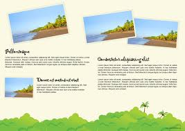 10 best images of vacation brochure examples travel brochure