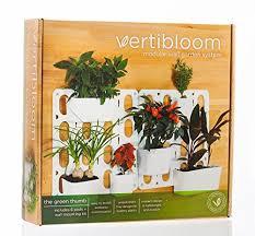 vertibloom living wall garden starter kit u2013 modular indoor