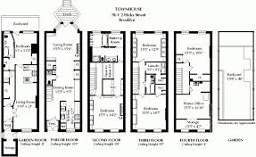 uk floor plans uncategorized row house floor plans in awesome terraced house