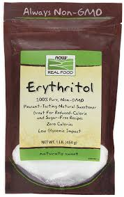 amazon com now foods erythritol natural sweetener 1 lb sugar