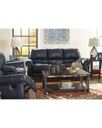 navy blue reclining sofa memorial day shopping deals on signature design by ashley milhaven