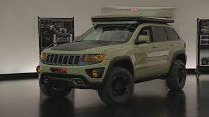 jeep cherokee green jeep grand cherokee overlander concept photo gallery autoblog