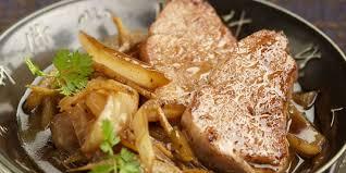 cuisine filet mignon de porc filet mignon de porc aux oignons caramélisés recettes femme