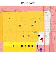 Gang Map Gage Park Gang Map Map Of Gage Park Chicago Slide100100 Flickr