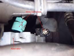 nissan murano alternator connector replacing the alternator