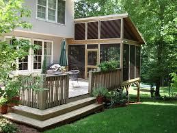 Modern Back Yard Backyard Patios And Decks