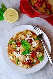 Easy Chicken Dinner Ideas For Family One Pot Mediterranean Quinoa Chicken U2022 To Live U0026 Diet In La