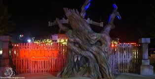kitsuneverse haunt review dorney park u0027s halloween haunt blends