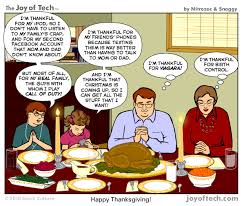 the of tech comic a somewhat disinclined thanksgiving