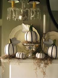 White Pumpkin Decorations Halloween Ric Rac Pumpkins