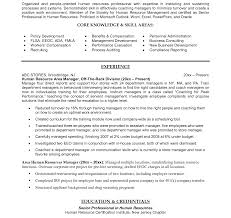 Resume Sle India Pdf unforgettable hr manager resume sle civilian and federal resumes