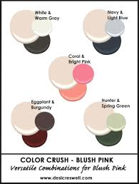 pink is a combination of what colors color crush blush pink a minnesota lifestyle and design blog