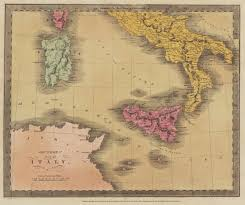 Map Of Southern Italy by Antique Maps Of Italy