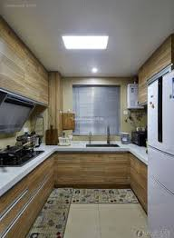 Kitchen Decoration Designs Simple Style Apartment Kitchen Decoration Design Effect Drawing