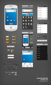 android gui designer android gui psd vector kit smashing magazine