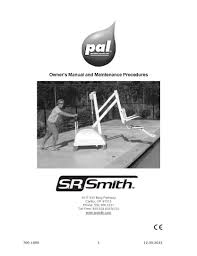 pal pool lift official s r smith products