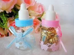 baby shower bottle favors baby shower bottle baptism favors candy gift boxes feeding