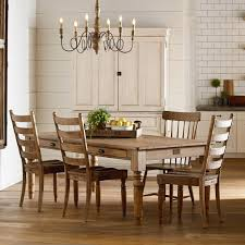 dining room table and bench primitive dining room group by magnolia home by joanna gaines
