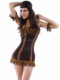 brown costume unique brown acrylic feather indian princess costume