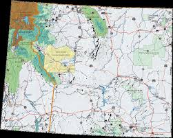 wy map us forest service rocky mountain region wyoming cing information