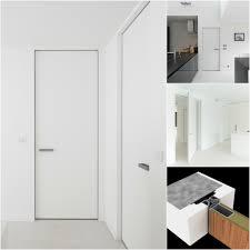 Interior Door Modern Modern Interior Doors With An Invisible Door Frame Anyway Doors
