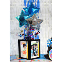 graduation center pieces bulk graduation party idea diy framed centerpiece at dollartree
