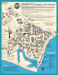 santa barbara california map uc santa barbara cus map carsey wolf center at uc santa barbara