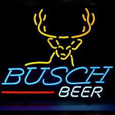 busch light neon sign 2018 busch light deer logo store beer bar neon light sign real glass