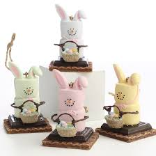 s mores marshmallow bunny ornaments ornaments