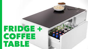 smart coffee table fridge sobro is a smart coffee table with a built in fridge youtube