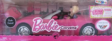 barbie convertible 2008 barbie remote radio control corvette convertible vehicle car