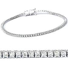 bracelet diamond gold tennis white images 2ct diamond tennis bracelet 14k white gold 7 quot jewelry jpg
