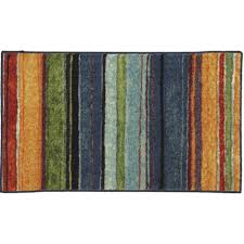 Blue Wave Rug Striped Rugs