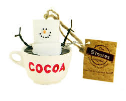2 75 s mores marshmallow character in a cocoa mug