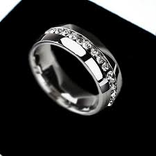 wedding rings stainless steel vs titanium rings does stainless