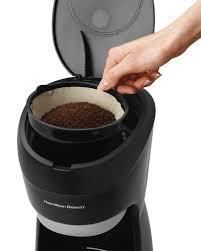amazon com hamilton beach 12 cup coffee maker with digital clock