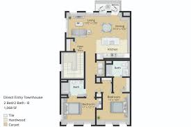 Our Town House Plans by Floor Plans East Main Apartments