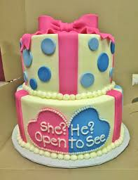 cakes by mindy gender reveal cake 8