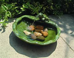 solar water fountain ideas for your garden lovers club makeovers